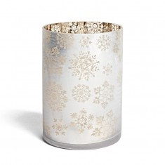 Snowflake jar holder