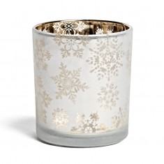 Snowflake - Yankee Candle Votive Holder