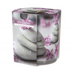 Spa Garden - Scented Candle  In Glass