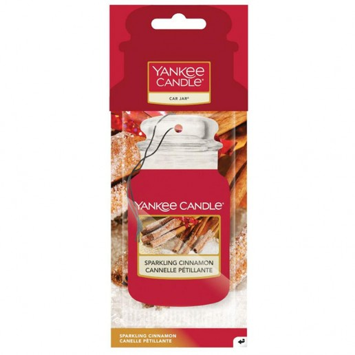 Sparklind cinnamon - Car Jar Paper