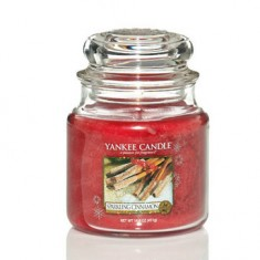 Sparkliing Ciinnamon - Yankee Candle Medium Jar