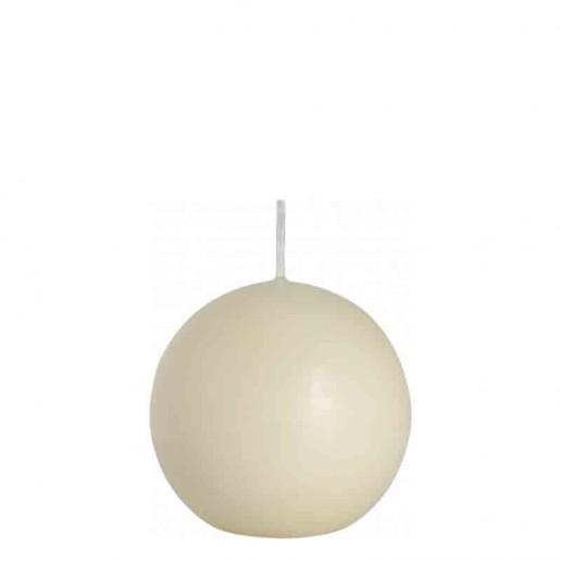 Sphere Candle 8cm - Ivory
