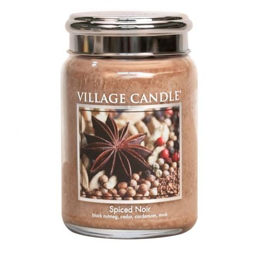 Spiced Noir - Village Candle Large Jar