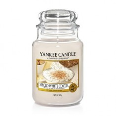 Spiced White Cocoa - Yankee Candle Large Jar