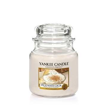 Spiced White Cocoa - Yankee Candle Medium Jar