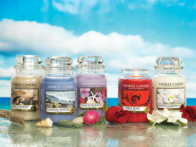 Discontinued Yankee Candle scents from Spring 2012