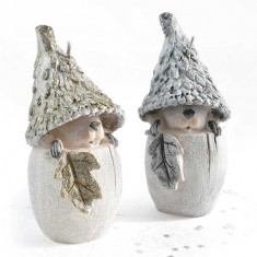 Squirrel Gold and Silver Handmade Gift Candle