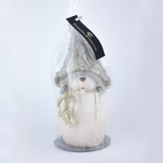 Squirrel Gold Handmade Gift Candle wrapped