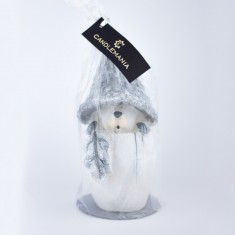 Squirrel Silver Handmade Gift Candle wrapped