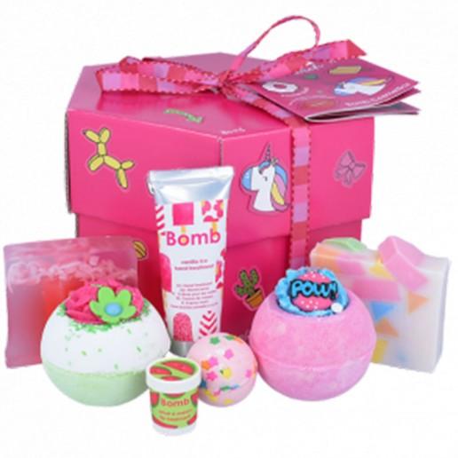 Stick With Me Hexagonal Gift Set - Bath Bomb Cosmetics