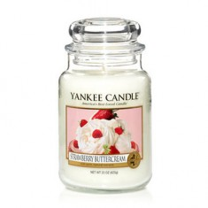 Strawberry Buttercream - Yankee Candle Large Jar