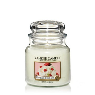 Strawberry Buttercream - Yankee Candle Medium Jar