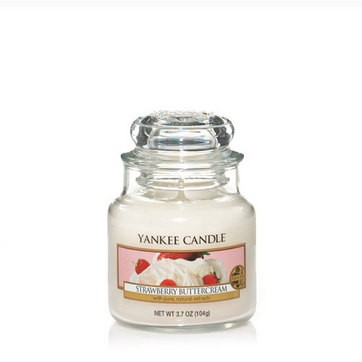 Strawberry Buttercream -Yankee Candle Small Jar