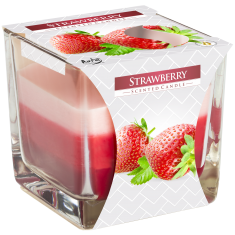 Strawberry - Triple Layered Scented Candle
