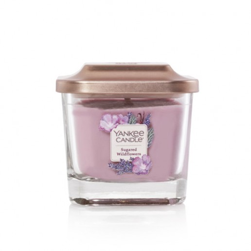 Sugared Wildflowers - Small Jar Elevation Collection Yankee Candles