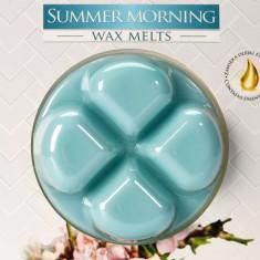 Summer Morning Wax Melts closeup