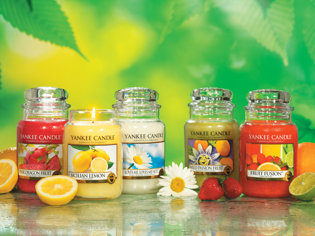 Retired Yankee Candle scents from Summer 2012