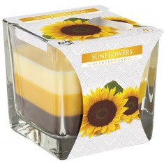 Sunflowers - Triple Layered Scented Candles