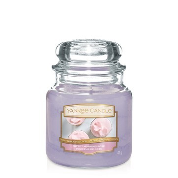 Sweet Morning Rose - Yankee Candle Medium Jar