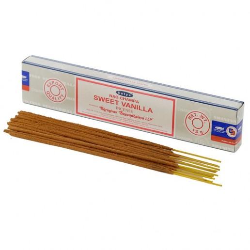 Sweet Vanilla - Satya Hand rolled Incense Sticks