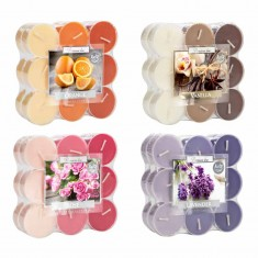 tea lights in clear plastic polycarbonate cups Ireland