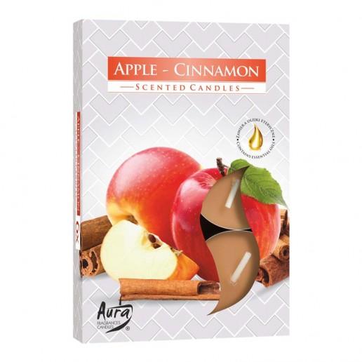 Tea Lights 6pk - Apple and Cinnamon