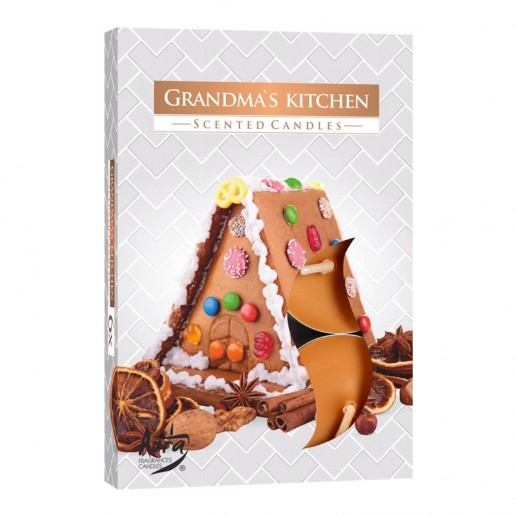 Tea Lights 6pk - Grandma's Kitchen