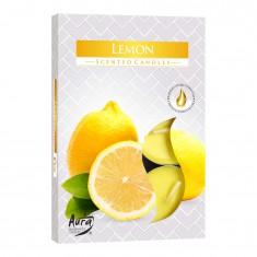 Scented Tea Lights 6pk - Lemon