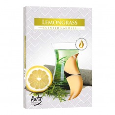 Tea Lights 6pk - Lemongrass