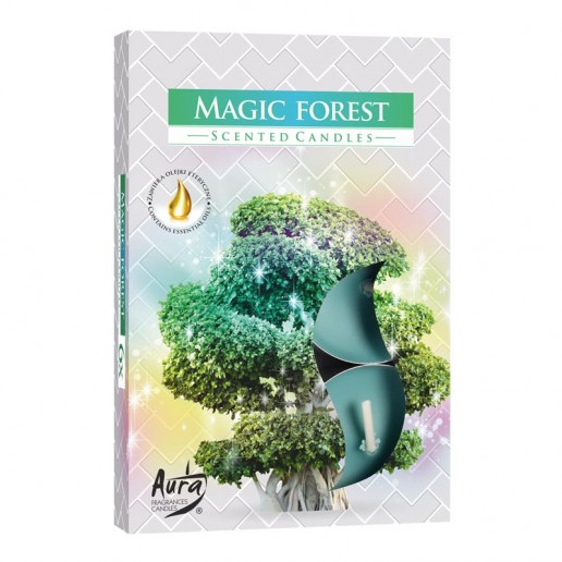 Tea Lights 6pk - Magic Forest