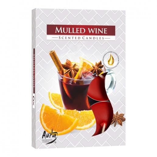 Tea Lights 6pk -Mulled Wine