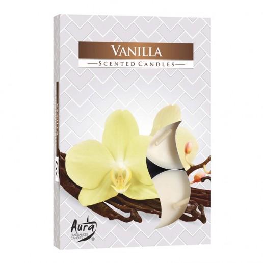 Tea Lights 6pk -Vanilla