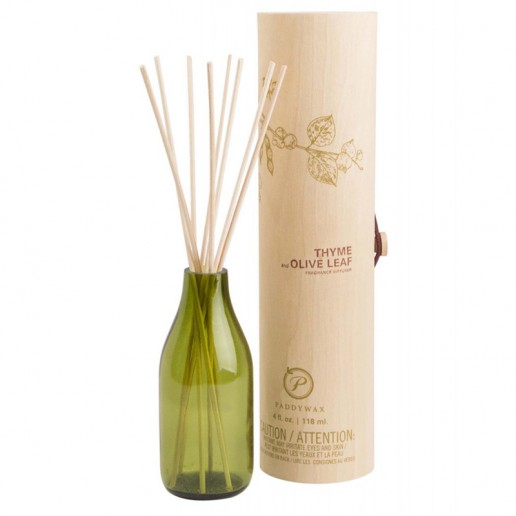 Thyme and Olive Leaf - Eco Green Paddywax Reed Diffuser
