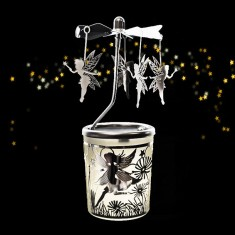 Tinkerbell - Spinning Tea Light Candle Holder