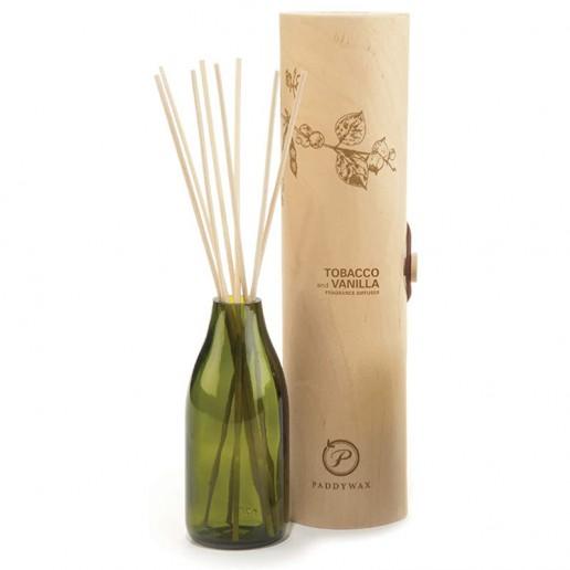 Tobacco and Vanilla - Eco Green Paddywax Reed Diffuser