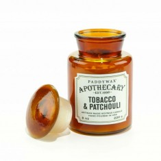 Tobacco & Patchouli - Apothecary Jar Candle Paddywax