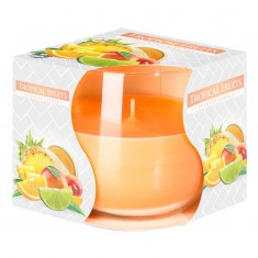 Tropical Fruit - Scented Candle in Glass Best Smelling Cheap Sale Discounts