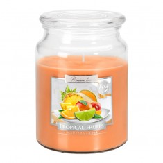 Tropical Fruits - Scented Candle Large Jar Best Smelling Cheap