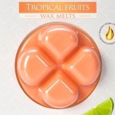 Tropical Fruits Wax Melts closeup