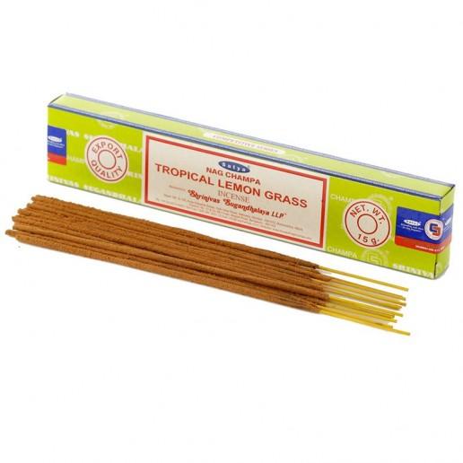 Tropical Lemon Grass - Satya hand rolled Incense Sticks