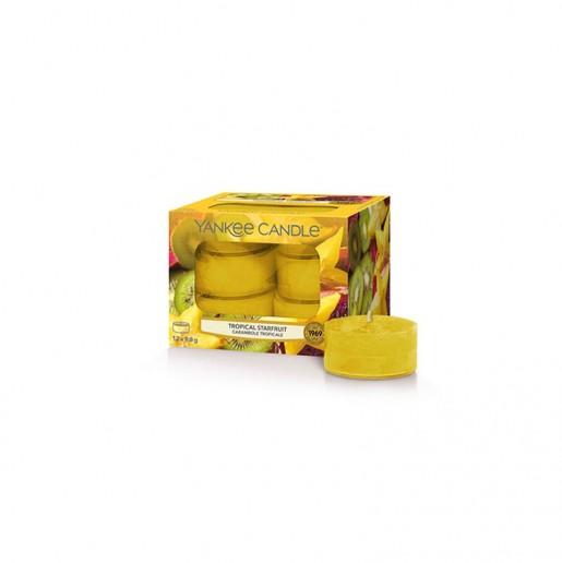 Tropical Starfruit - Yankee Candle Tea Lights