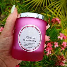 Tropical Watermelon - Shearer Candle Small Jar lifestyle