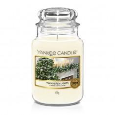 Twinkling Lights - Yankee Candle Large Jar