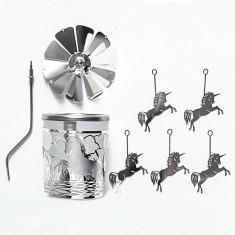 Unicorn - Spinning Tea Light Candle Holder