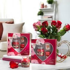 Valentine's Day Heart Gift Set environmental