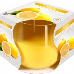 scented candles lemon