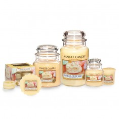 Yankee Candle Vanilla Cupcake Scented Candles