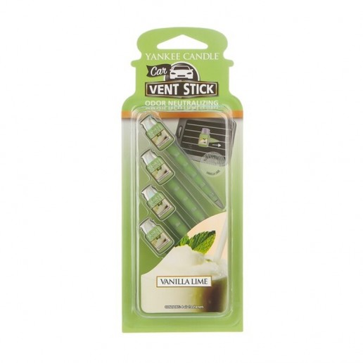 Vanilla Lime - Yankee Candle Car Vent Stick