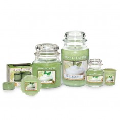 Yankee Candle Vanilla Lime Scented Candles