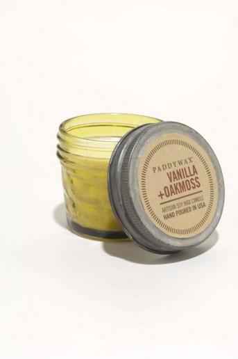 Vanilla & Oakmoss - Relish Vintage Small Jar Paddywax Candle
